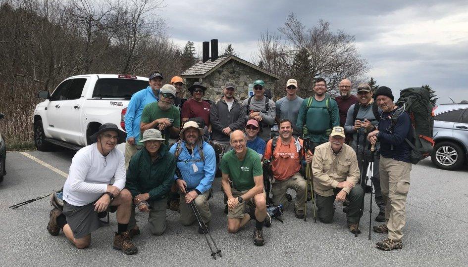 Spring 2019 Men's Hike